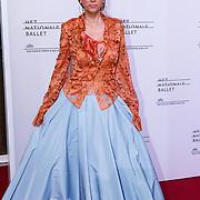 NLD/Amsterdam/20150908 - Inloop Gala 2015 - Nationaal Ballet, Chazia Mourali en partner Marc Schröder