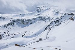THEMENBILD - Gasthof Fuscherlacke Mankeiwirt in der winterlichen Landschaft. Die Grossglockner Hochalpenstrasse verbindet die beiden Bundeslaender Salzburg und Kaernten und ist als Erlebnisstrasse vorrangig von touristischer Bedeutung, aufgenommen am 29. April 2021 auf der Grossglockner Hochalpenstrasse, Österreich // Gasthof Fuscherlacke Mankeiwirt in the wintry landscape. The Grossglockner High Alpine Road connects the two provinces of Salzburg and Carinthia and is as an adventure road priority of tourist interest at the Grossglockner High Alpine Road, Austria on 2021/04/29. EXPA Pictures © 2021, PhotoCredit: EXPA/ JFK