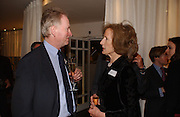 Christopher Vane Percy and Caroline Lawson, Launch of the House and Garden directory of the 100 Leading Interior Designers. Design Club, 3rd Floor. South Dome, Chelsea Harbour. London. 13 March 2006. ONE TIME USE ONLY - DO NOT ARCHIVE  © Copyright Photograph by Dafydd Jones 66 Stockwell Park Rd. London SW9 0DA Tel 020 7733 0108 www.dafjones.com