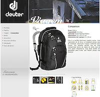 Fotografia de produto para www.deuter.com.br usada em materiais de divulgação e website.<br /> <br /> Product photography for www.deuter.com.br used on release materials and website.