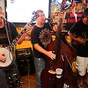 Massive Grass performs Thursday August 7, 2014 during The Shrip-A-Roo at Buddy's Crab House & Oyster Bar in Wrightsville Beach, N.C.  (Jason A. Frizzelle)