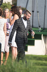 Shane Lynch. Ronan Keating wedding to Storm Uechtritz at Archerfield today.