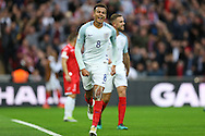 GOAL/cele  - Dele Alli of England celebrates after scoring his teams 2nd goal. FIFA World cup qualifying match, european group F, England v Malta at Wembley Stadium in London on Saturday 8th October 2016.<br /> pic by John Patrick Fletcher, Andrew Orchard sports photography.