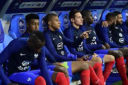 August 31, 2017 - Paris, France, France - Kylian Mbappe (France) sur le banc en debut de match (Credit Image: © Panoramic via ZUMA Press)