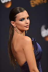 Emily Ratajkowski attends the 68th Annual Primetime Emmy Awards at Microsoft Theater on September 18, 2016 in Los Angeles, California. Photo by Lionel Hahn/ABACAPRESS.COM