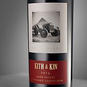 Bottle of 2014 Kith & Kin Cabernet Sauvignon