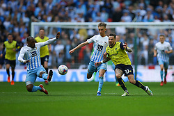 Chris Maguire of Oxford United in action - Photo mandatory by-line: Jason Brown/JMP -  02/04//2017 - SPORT - Football - London - Wembley Stadium - Coventry City v Oxford United - Checkatrade Trophy Final