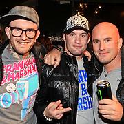 NLD/Amsterdam/20101029 - Premiere Jackass 3D, deelnemer the Voice of Holland, Ben Saunders en broers Dean en Jamie