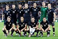 Fotball<br /> New Zealand v Slovenia<br /> Mariburg Slovenia<br /> 04.06.2010<br /> Foto: Gepa/Digitalsport<br /> NORWAY ONLY<br /> <br /> FIFA Weltmeisterschaft 2010 in Suedafrika, Vorberichte, Vorbereitung, Vorbereitungsspiel, Freundschaftsspiel, Laenderspiel, Slowenien vs Neuseeland. <br /> <br /> Bild zeigt Shane Smeltz, Jeremy Christie, Ryan Nelsen, Leo Bertos (vorne von links), Tony Lochhead, Tommy Smith, Winston Reid, Chris Wood, Rory Fallon, Mark Paston und Simon Elliott (hinten von links/NZL).<br /> Lagbilde New Zealand
