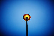 Lamp with sky
