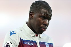 25 November 2017 - Premier League Football - Crystal Palace v Stoke City - A close up of Kurt Zouma of Stoke with tracks of water running down his face - Photo: Charlotte Wilson / Offside