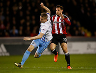 Billy Sharp of Sheffield Utd during the English League One match at Bramall Lane Stadium, Sheffield. Picture date: April 5th 2017. Pic credit should read: Simon Bellis/Sportimage