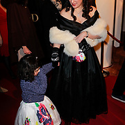 NLD/Amsterdam/20120115 - Premiere Suskind, Golda de Leon en haar moeder