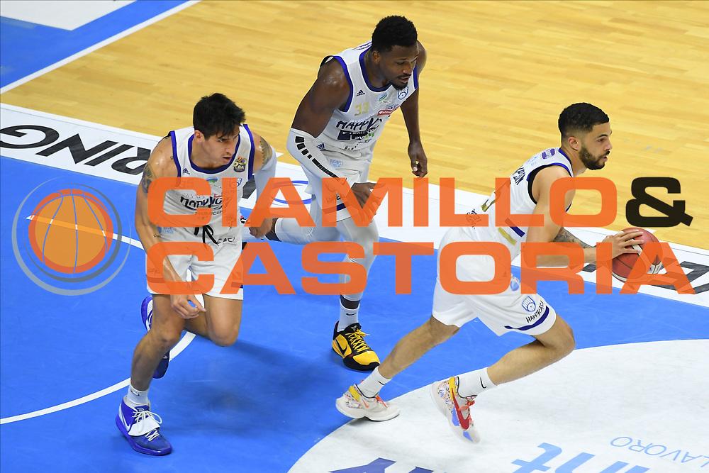 Thompson Darius<br /> Happy Casa Brindisi - Segafredo Virtus Bologna<br /> Semifinali - Gara 2<br /> Legabasket Serie A UnipolSAI 2020/2021<br /> Brindisi, 25/05/2021<br /> Foto GiulioCiamillo/ Ciamillo-Castoria