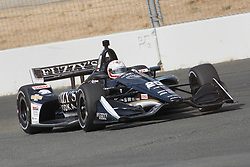 September 14, 2018 - Sonoma, CA, U.S. - SONOMA, CA - SEPTEMBER 14: Jordan King heads towards Turn 9A during the Verizon IndyCar Series practice for the Grand Prix of Sonoma on September 14, 2018, at Sonoma Raceway in Sonoma, CA. (Photo by Larry Placido/Icon Sportswire) (Credit Image: © Larry Placido/Icon SMI via ZUMA Press)