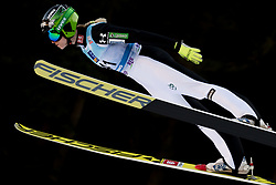 February 7, 2019 - Ljubno, Savinjska, Slovenia - Spela Rogelj of Slovenia competes on qualification day of the FIS Ski Jumping World Cup Ladies Ljubno on February 7, 2019 in Ljubno, Slovenia. (Credit Image: © Rok Rakun/Pacific Press via ZUMA Wire)