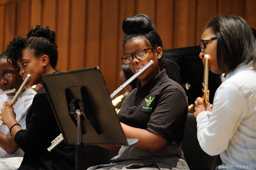 2015 El Sistema Symposium: Built to Grow. Built to Last.<br /> <br /> POP Wind Ensemble - Friere Charter School<br /> <br /> Curtis Institute of Music, Philadelphia, PA<br /> <br /> January 9, 2015