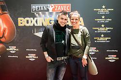 Omar Naber prior to the Dejan Zavec Boxing Gala event in Ljubljana, on March 11, 2017 in Grand Hotel Union, Ljubljana, Slovenia. Photo by Vid Ponikvar / Sportida
