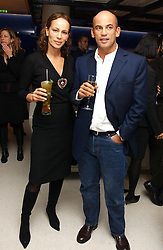 GUY & ANDREA DELLAL at a dinner hosted by Cartier to celebrate the opening of the 2004 Frieze Art Fair, held at Yauacha 15-17 Broadwick Street, London W1 on 13th October 2004.<br /><br />NON EXCLUSIVE - WORLD RIGHTS
