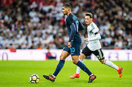 England (10) Ruben Loftus-Cheek, Germany (10) Özil during the Friendly match between England and Germany at Wembley Stadium, London, England on 10 November 2017. Photo by Sebastian Frej.