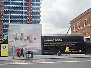Bishopsgate near Liverpool St. London. 26 February 2016