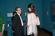 ANTHONY CRICHTON-STUART; KATHERINE ARA, Mark Weiss dinner, Nationaal Portrait Gallery. London. 15 October 2012.