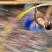 BRUSSELS, BELGIUM:  September 3:   Armand Duplantis #12 of Sweden in action while winning the pole vault competition which included an attempt at the world record of 6.19M which he narrowly missed during the Wanda Diamond League 2021 Memorial Van Damme Athletics competition at King Baudouin Stadium on September 3, 2021 in  Brussels, Belgium. (Photo by Tim Clayton/Corbis via Getty Images)