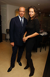 FAWAZ GRUOSI and CHARLOTTE STOCKDALE at a lunch hosted by Fawaz Gruosi to celebrate the launch of De Grisogono's latest watch 'Be Eight' held at Nobu, 19 Old Park Lane, London W1 on 30th November 2006.<br /><br />NON EXCLUSIVE - WORLD RIGHTS