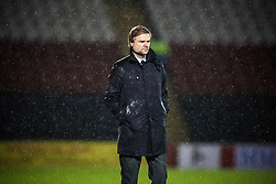 Steven Pressley, Falkirk manager..Airdrie United 1 v 4 Falkirk, 22/12/2012..©Michael Schofield.