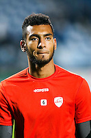 Angelo Fulgini of Valenciennes during the Ligue 2 match between Tours and Valenciennes on October 21, 2016 in Tours, France. (Photo by Eddy Lemaistre/Icon Sport)