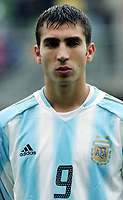 Fotball <br /> FIFA World Youth Championships 2005<br /> Enschede<br /> Nederland / Holland<br /> 11.06.2005<br /> Foto: Morten Olsen, Digitalsport<br /> <br /> USA v Argentina 1-0<br /> <br /> Pablo Vitti - Argentina