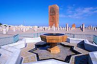 Maroc, Rabat, Esplanade de la mosquée de Yacoub el-Mansour, La tour Hassan // Morocco, Rabat, Mohammed V mosoleum, Hassan tower1