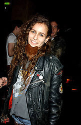 ALICE DELLAL at a party hosted by Daniella Helayel of fashion label ISSA held at Taman Gang, 141 Park Lane, London on 15th February 2006.<br /><br />NON EXCLUSIVE - WORLD RIGHTS