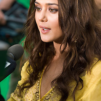 SHEFFIELD, UNITED KINGDOM - 9th June 2007: Bollywood actress Preity Zinta at  International Indian Film Academy Awards (IIFAs) at the Sheffield Hallam Arena on June 9, 2007 in Sheffield, England.