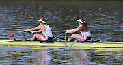 Caversham  Great Britain.<br /> Bow. Fiona GAMMOND and Holly NORTON.<br /> 2016 GBR Rowing Team Olympic Trials GBR Rowing Training Centre, Nr Reading  England.<br /> <br /> Tuesday  22/03/2016 <br /> <br /> [Mandatory Credit; Peter Spurrier/Intersport-images]
