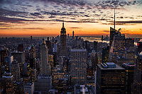 Manhattan, Transition from Day to Night