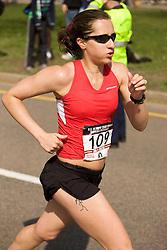 Renee High at mile 19