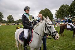 Geerits Flore, BEL, Kaatje<br /> Nationaal Kampioenschap LRV Ponies <br /> Lummen 2020<br /> © Hippo Foto - Dirk Caremans<br /> 27/09/2020