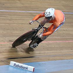 Roy van de Berg realiseerde de snelste tijd kwalificatie 200 meter