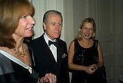 Italian Ambassador Giancarlo Aragona with his wife Sandra and Iwona Blazwick. Dinner at the Italian Embassy in which the winner of the MaxMara Art Prize ( in collaboration with the Whitechapel art gallery )for Women is announced. Grosvenor Sq. London. 29 January 2008.  -DO NOT ARCHIVE-© Copyright Photograph by Dafydd Jones. 248 Clapham Rd. London SW9 0PZ. Tel 0207 820 0771. www.dafjones.com.