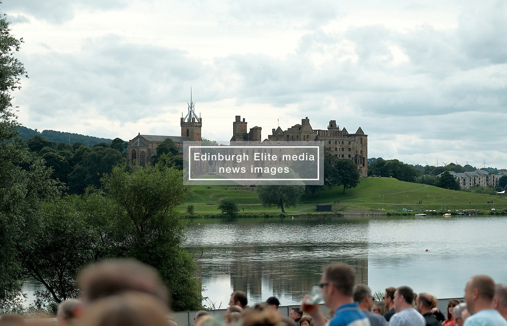 Party At The Palace, Saturday 11th August 2018<br /> <br /> Pictured: Linlithgow Palace<br /> <br /> Aimee Todd   Edinburgh Elite media