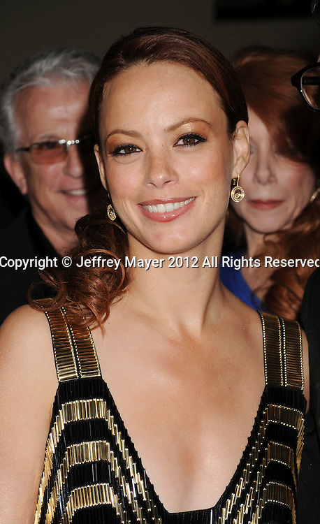 HOLLYWOOD, CA - JANUARY 28: Berenice Bejo  arrives at the 64th Annual Directors Guild Of America Awards at the Grand Ballroom at Hollywood & Highland Center on January 28, 2012 in Hollywood, California.