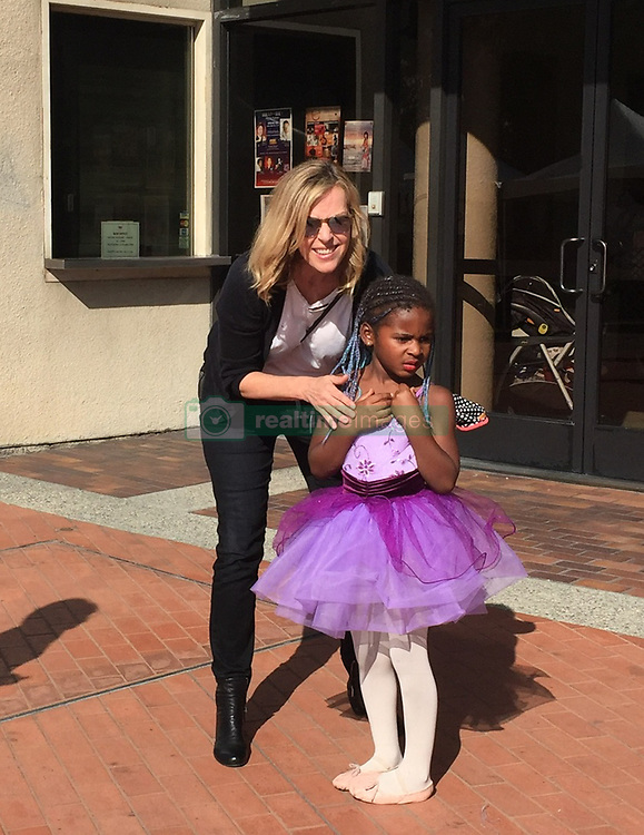 """EXCLUSIVE: June 10th 2017. Charlize Theron with her kids son Jackson Theron, daughter August Theron, mother Gerda Jacoba Aletta Maritz and her sister leaving Japanese American Cultural & Community Center in Downtown Los Angeles after celebrating anniversary of West Hollywood ABC's Of Dance School. Charlize Theron's son Jackson was participating in Spring Recital """" Dancing Through The Pages"""". 17 Jun 2017 Pictured: Charles Jacobus Theron, sister. Photo credit: BELFA / MEGA TheMegaAgency.com +1 888 505 6342"""