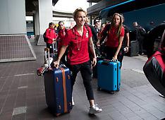 170914 Wales Women Travel to Kazakhstan