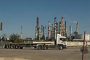 Israel, Haifa bay, Petrochemical factory