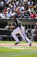 CHICAGO - JUNE 26:  Andruw Jones #25 of the Chicago White Sox bats against the Atlanta Braves on June 24, 2010 at U.S. Cellular Field in Chicago, Illinois.  The White Sox defeated the Braves 2-0.  (Photo by Ron Vesely)