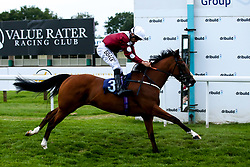 Bithiah ridden by Sean Levey trained by Ismail Mohammed in the Novice Stakes - Mandatory by-line: Robbie Stephenson/JMP - 27/08/2019 - PR - Bath Racecourse - Bath, England - Race Meeting at Bath Racecourse