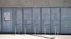 11.04.2020, Linz, AUT, Coronavirus in Österreich, im Bild Stadion der Stadt Linz auf der Gugl geschlossen während der Coronavirus Pandemie // during the World Wide Coronavirus Pandemic in Linz, Austria on 2020/04/11. EXPA Pictures © 2020, PhotoCredit: EXPA/ Reinhard Eisenbauer