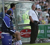 Photo: Lee Earle.<br /> Plymouth Argyle v Cardiff City. Coca Cola Championship. 15/09/2007.Cardiff manager Dave Jones.