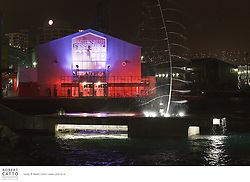 The Pacific Blue Festival Club, one of the venues in the New Zealand International Arts Festival in Wellington.